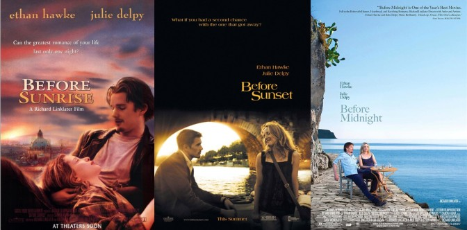 The Before Trilogy – Before Sunrise (1995), Before Sunset (2004) & Before Midnight (2013)