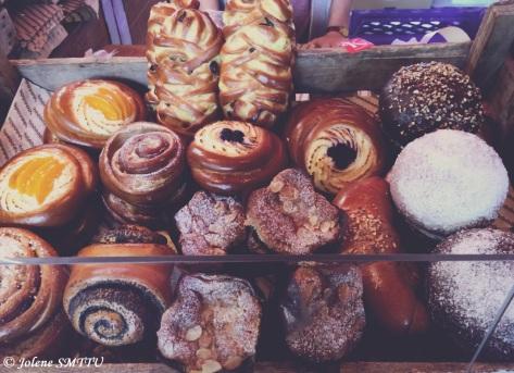 Borough Market pastries, London