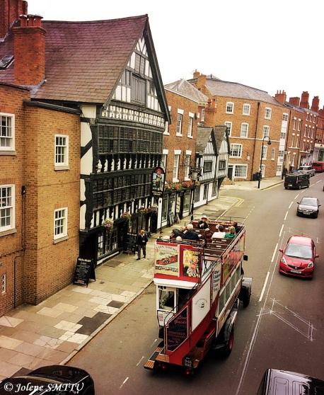 Chester cityscape